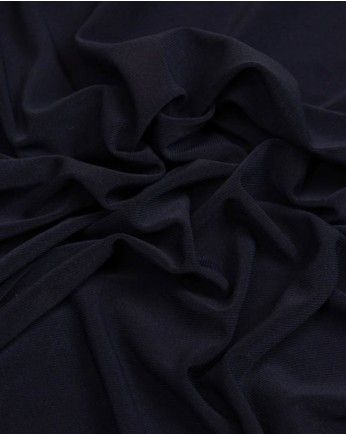 Lightweight Jersey Fabric | French Navy | Truro Fabrics - red velvet dress