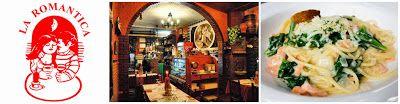 Pizzeria La Romantica a domicilio #Malaga #restaurante #italiano #pizza #pasta www.foodmesenger.com