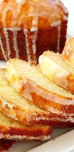 Limoncello Lemon Cake ~ Fresh, bright, tangy flavors... It's like eating sunshine!