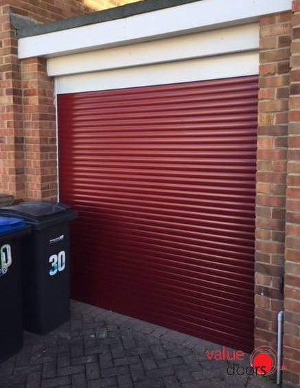 What do you think to a red roller shutter door? & 69 best Roller Shutter Garage Doors images on Pinterest Pezcame.Com