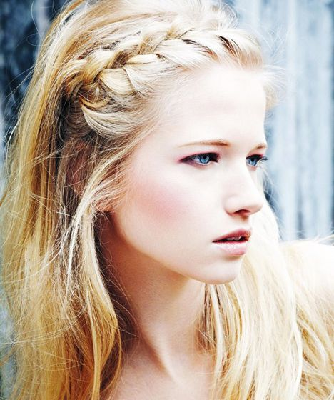 summer styleFrench Braids, Everyday Hairstyles, Long Hair, Longhair, Hair Style, Side Braids, Front Braids, Braids Hair, Bobby Pin