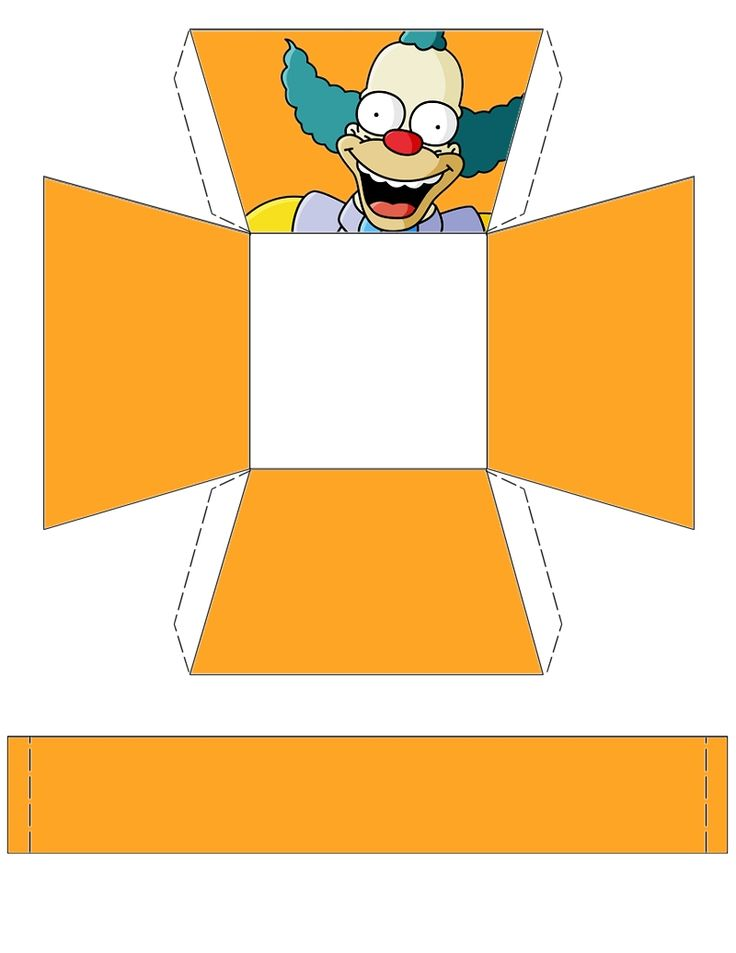 The Simpsons Krusty Basket Free To Use And Free To