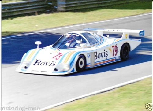 ECURIE-ECOSSE-C285-RAY-MALLOCK-MIKE-WILDS-BRANDS-HATCH-1000KM-1985-2-PHOTOGRAPH