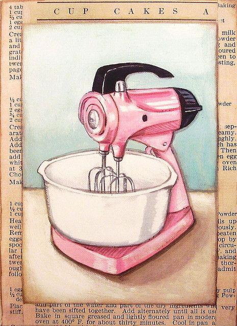 Vintage mixer ❤