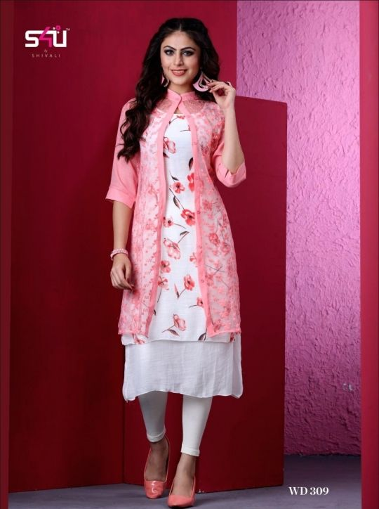 b38791b5ec S4u-Vdesi-Vol-3-Kurti-With-Shrug-Collection-2019-Wholesale-Rate-Online-13