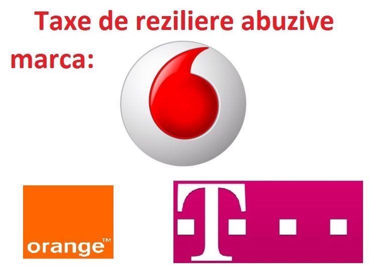 Reziliere contract cu Telekom Romania ! Vodafone, Orange, RDS&RCS, DIGI Mobil