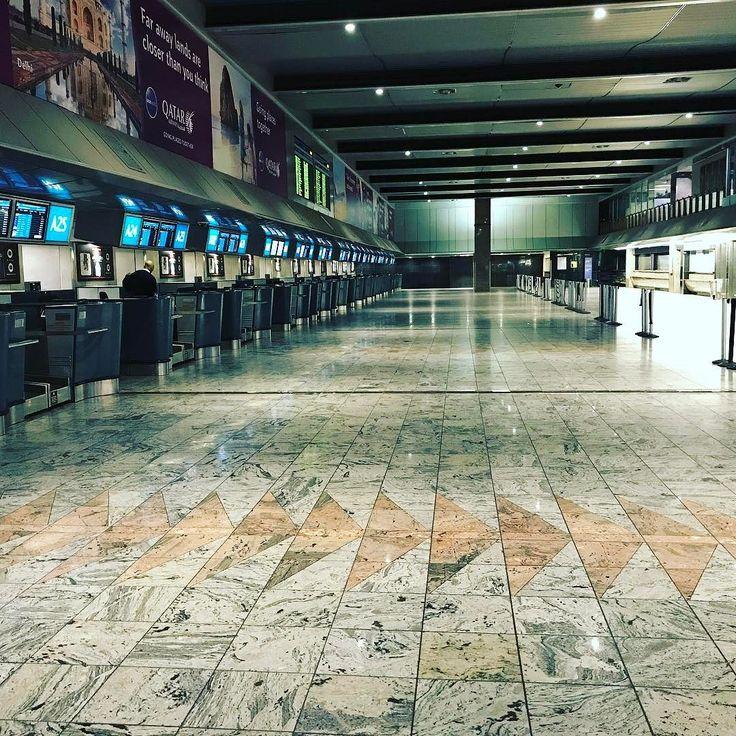 International departures at 4:00am