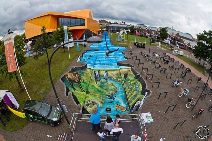 Renklim Blog – Burada renkli bir şeyler var! – 3D Sokak sanatı – Filip Mrvelj