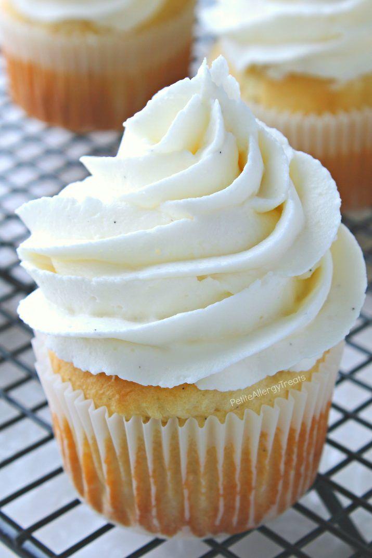 Vegan Gluten Free Vanilla Cupcakes Allergy Amulet Recipe Gluten Free Desserts Vegan Vanilla Cupcakes Dairy Free Cupcakes
