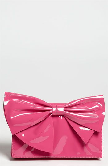 Valentino 'Lacca Bow' Flap Clutch | Nordstrom