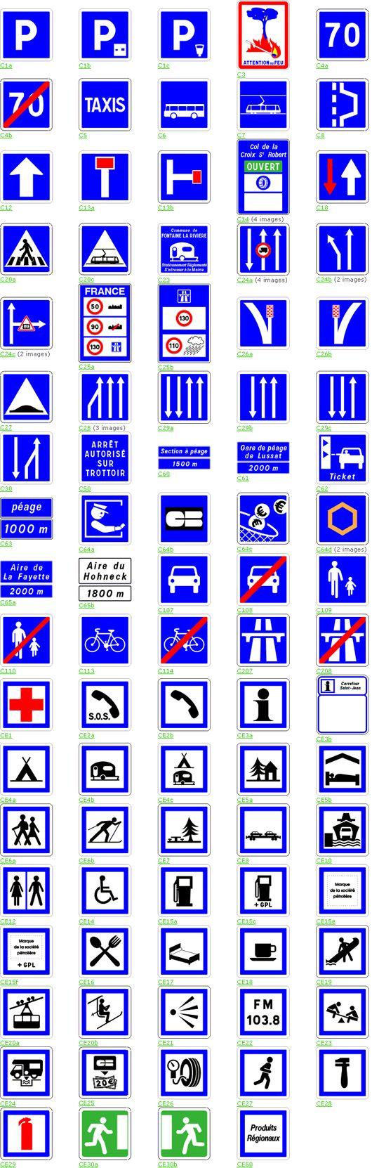 Fabuleux Les 11 meilleures images du tableau Signalisation routière sur  HT96