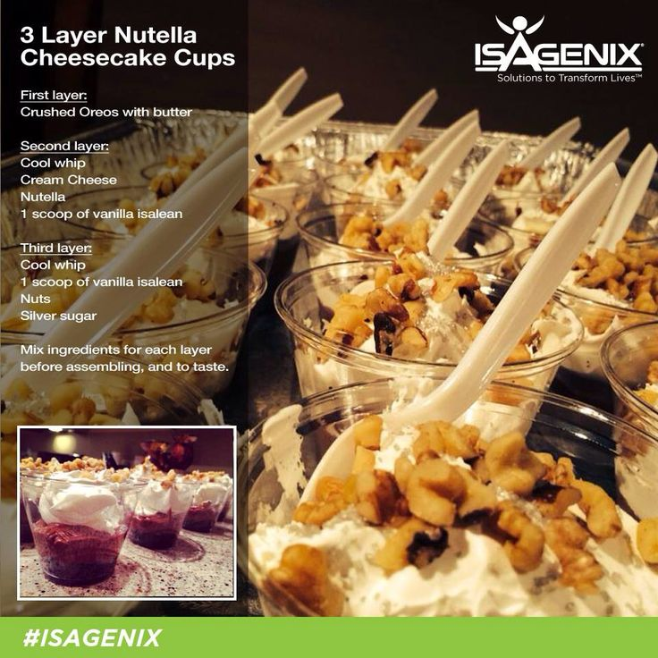 17 Best Images About Isagenix Meal And Snack Recipes On