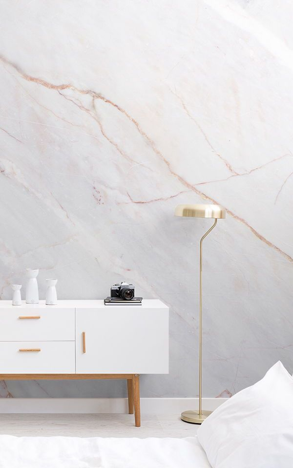 Cracked Marble Wallpaper Subtle Marble Design Muralswallpaper Marble Wallpaper Bedroom Wallpaper Living Room Room Wall Colors