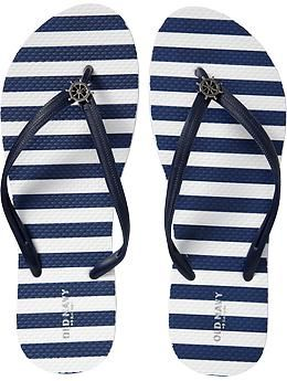 Womens Printed Flip-Flops- I want the whole collection!-oldnavy