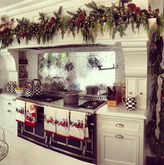 Christmas Decorating Ideas for Kitchen and Dining Room | 2014
