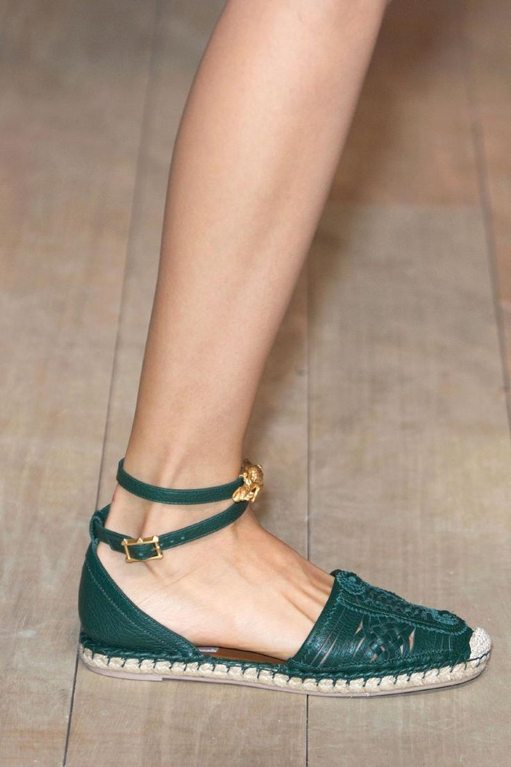 Great for summer or a #vacation shoe #feet Be good in a brown leather. If that gold emblem on the shoe is a turtle that sweetens it!