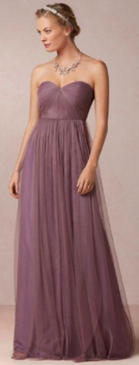 beautiful strapless bridesmaid dress xv a os pinterest a os. Black Bedroom Furniture Sets. Home Design Ideas