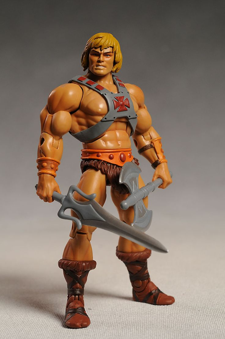 "I would take my brothers He-Man ""actions figure"" & set him up with my Barbie.  They were sooo in love."