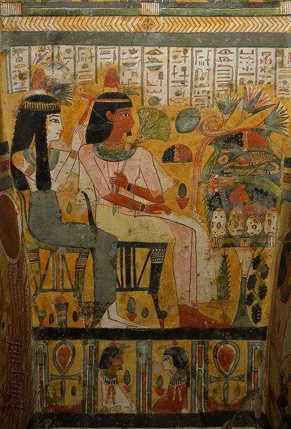 ·Coffin of Djedmut ~ Detail