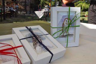 OWLS for a wedding gift by elisabetta mitrovic elisabettamitrovic.blogspot.com