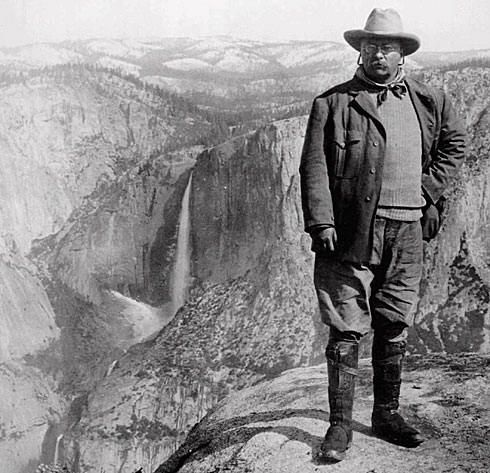 "January 11, 1908, President Theodore Roosevelt made the Grand Canyon a National Monument.  ""Do nothing to mar its grandeur, for the ages have been at work upon it and man cannot improve it.  Keep it for your children, your children's children and all who come after you."""