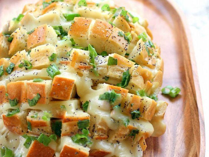 Paine umpluta cu ceapa si mozzarella - www.Foodstory.ro