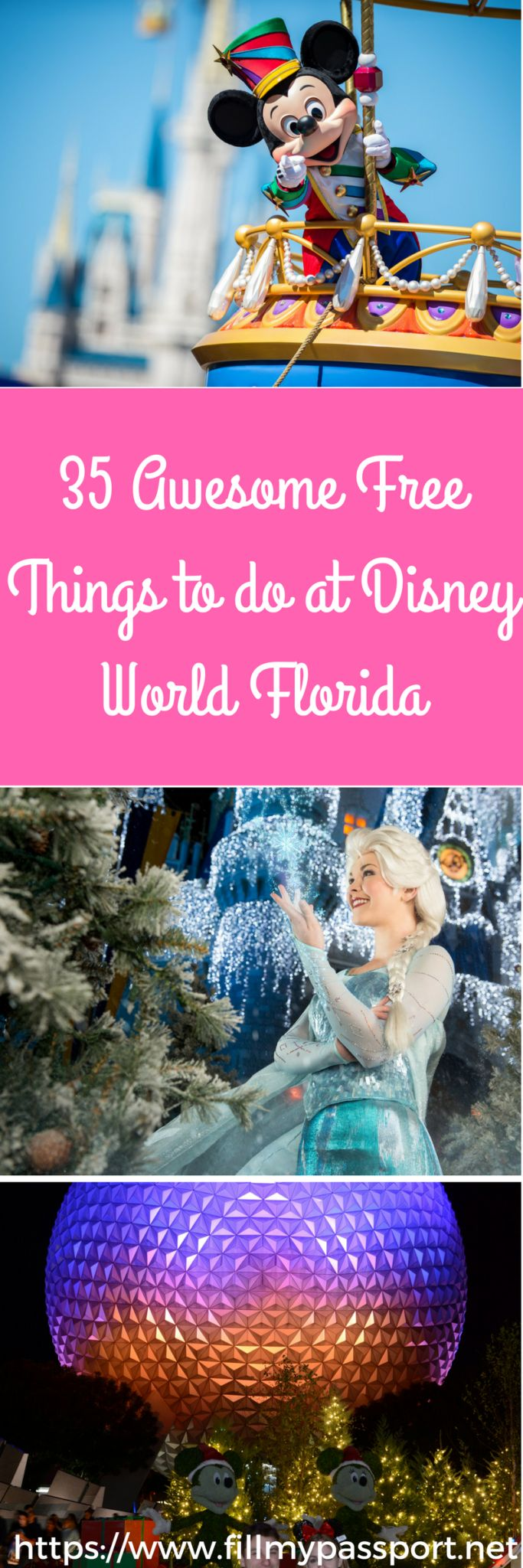 Trips to Disney can be quite expensive. Check out our 35 Awesome Free Things to Do which will add some pixie dust to your Disney world trip!