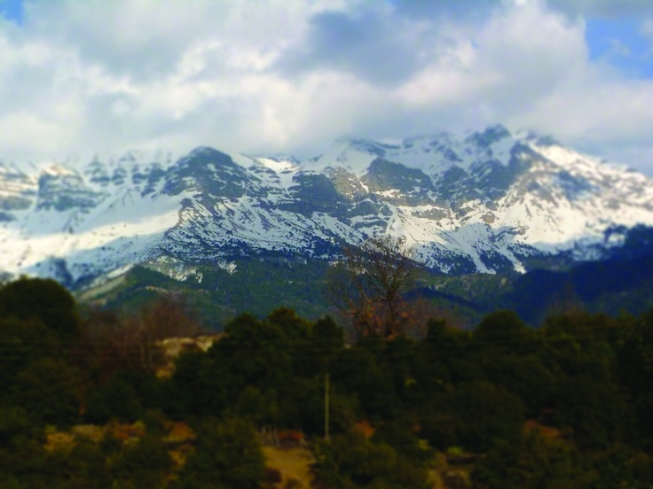 The Athamanian Greek mountains
