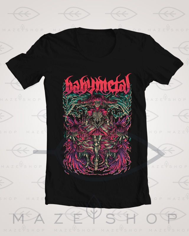 BabyMetal T-Shirt The Gazette One ok Rock Scandal Mejibray Tokyo Jihen SID KRA #Handmade #BasicTee