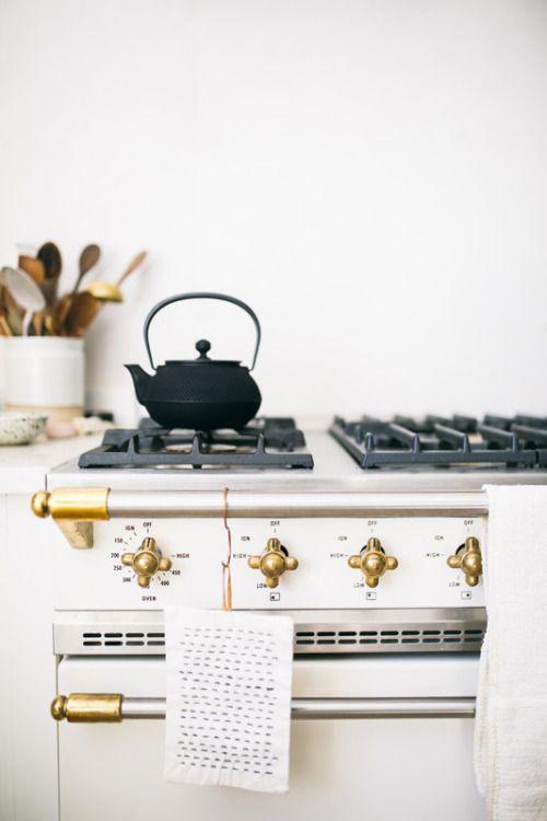 beth kirby's kitchen | local milk | lacanche oven range