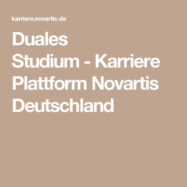 Duales Studium-Karriere Plattform Novartis Deutschland
