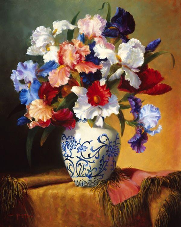 Paintings by artist Fran Di Giacomo.