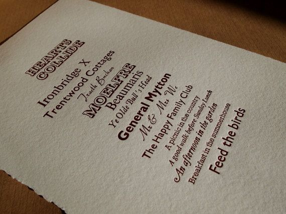 A Few of My Favourite Things Custom Order by TheSmallprintCompany, £55.00