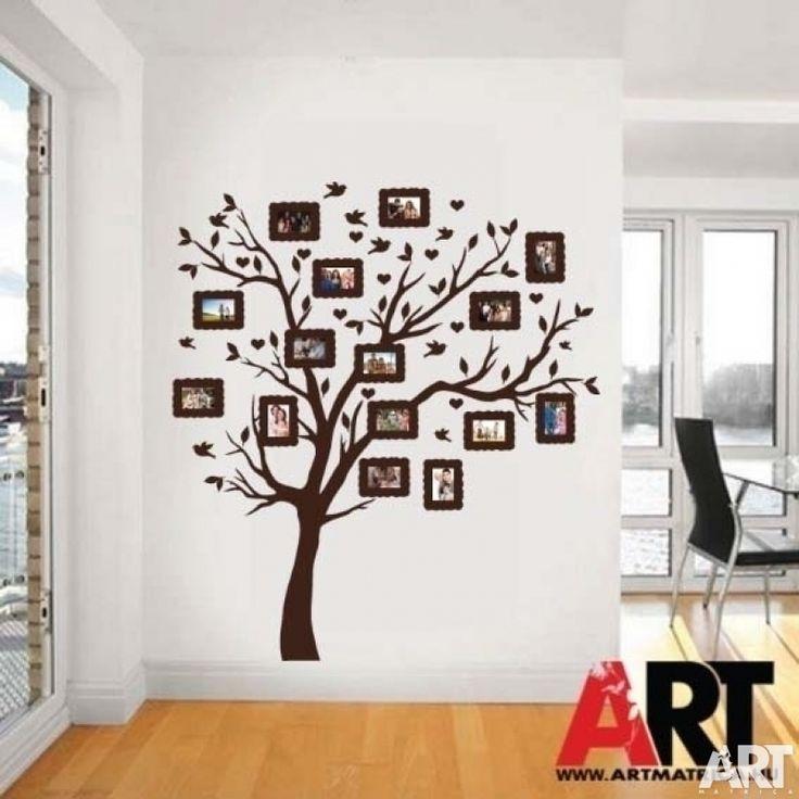 Falmatrica  Családfa képkeret matricákkal 9x13cm fényképekhez nagy színválasztékban