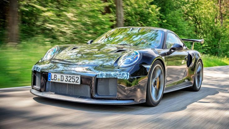 We reach for the grab handles in Porsche's new RWD, turbocharged supercar