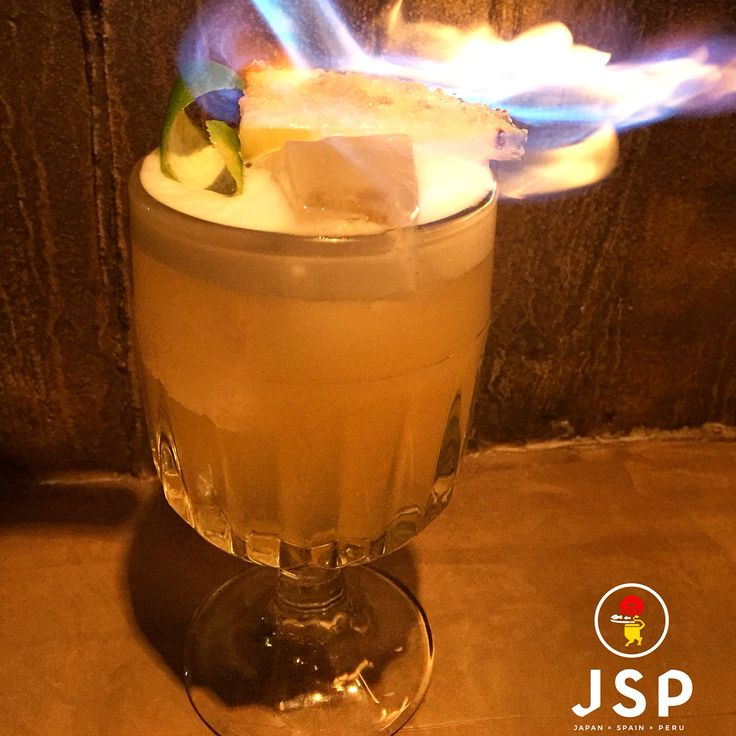 JSP Pisco***** Barsol Pisco infused with pineapple,Lime Juice,Sugar syrup,Bitters Cinco JSP Let's rock\m/