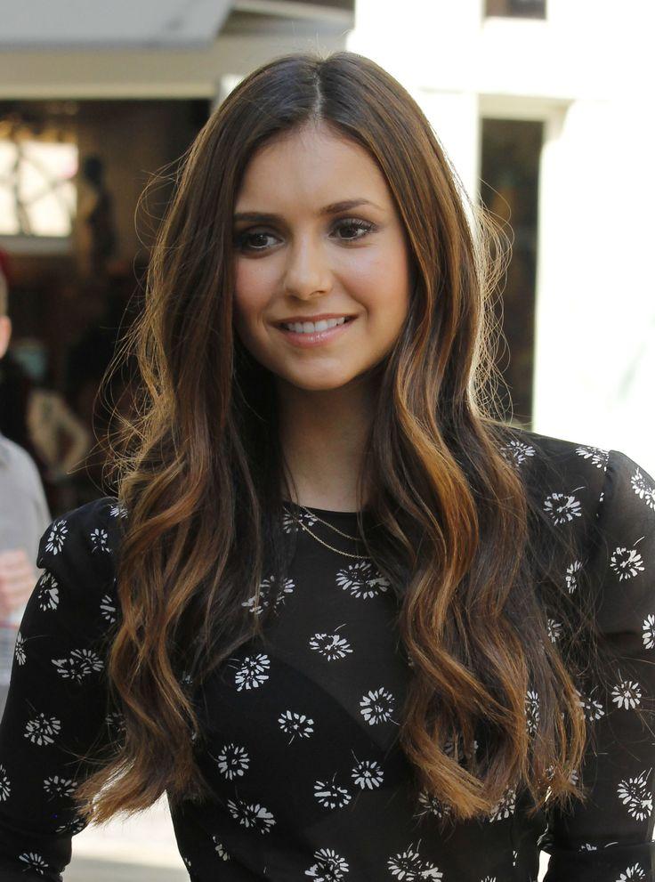 Nina Dobrev - Hair and makeup