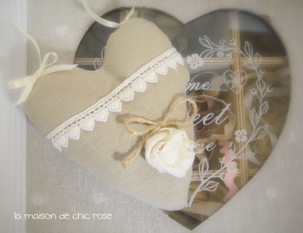 Cuore stoffa decor  info.chicrose@gmail.com  http://chic-rose.blogspot.com