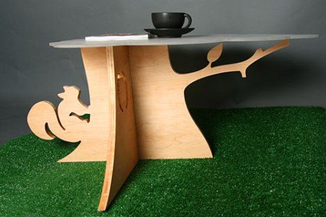 Tree Stump Coffee Table from the designers at 'Because We Can'.