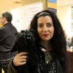 Edgar Allan Purr with Tali Helene http://www.darkmatterfanzine.com/dmf/continuum-9-sunday-two-book-launches-art-and-more/