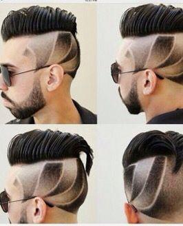 Corte de cabello con diseño