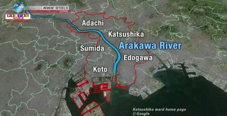 Inundações na capital do Japão podem afetar 1,5 milhão de pessoas