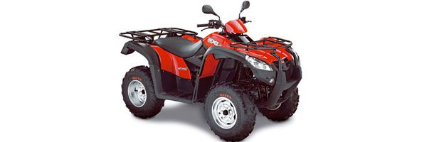 Quad Specifications: Kymco, 80cc, automatic, 2 seats.