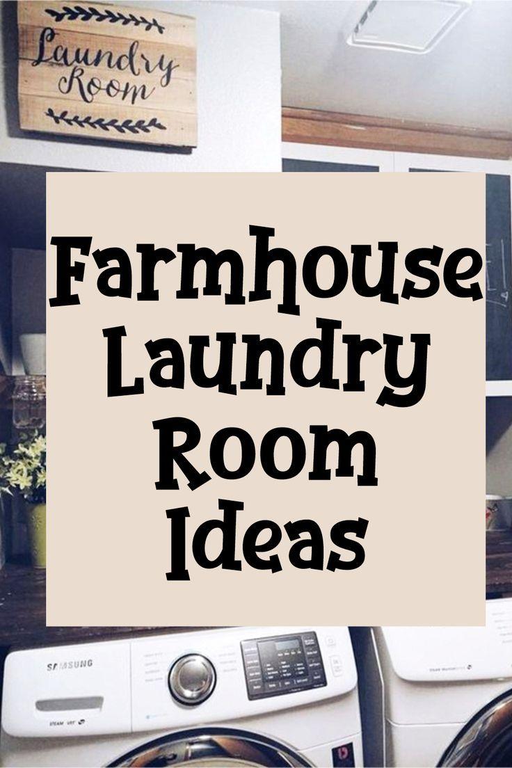 Laundry Nook Ideas We Love Laundry Nook Farmhouse Laundry Room