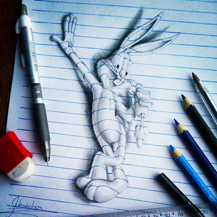 Best D Art Images On Pinterest D Artwork Google Translate - Artist creates amazing 3d sketches that leap from the paper theyre drawn on