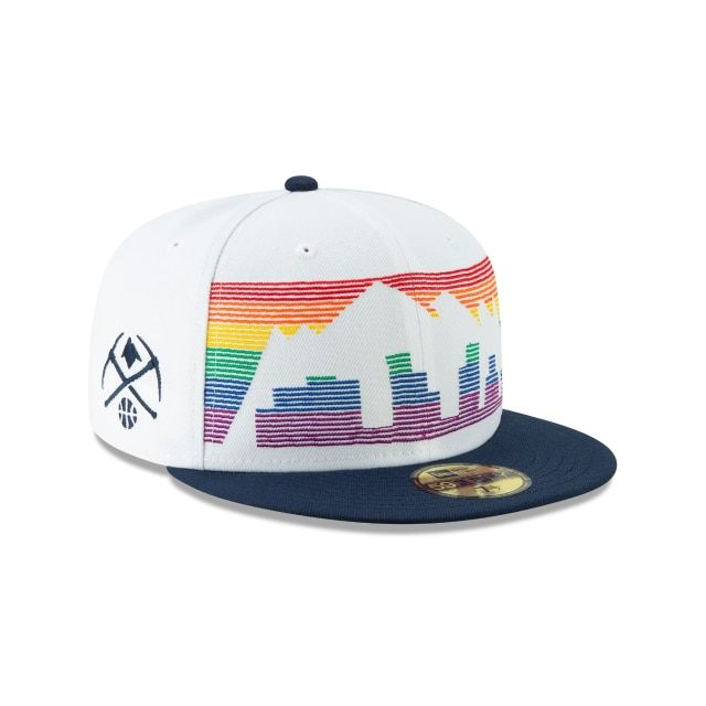 Denver Nuggets Nba Authentics City Series 59fifty Fitted 3 Quarter Right View Snapback Denver Nuggets New Era