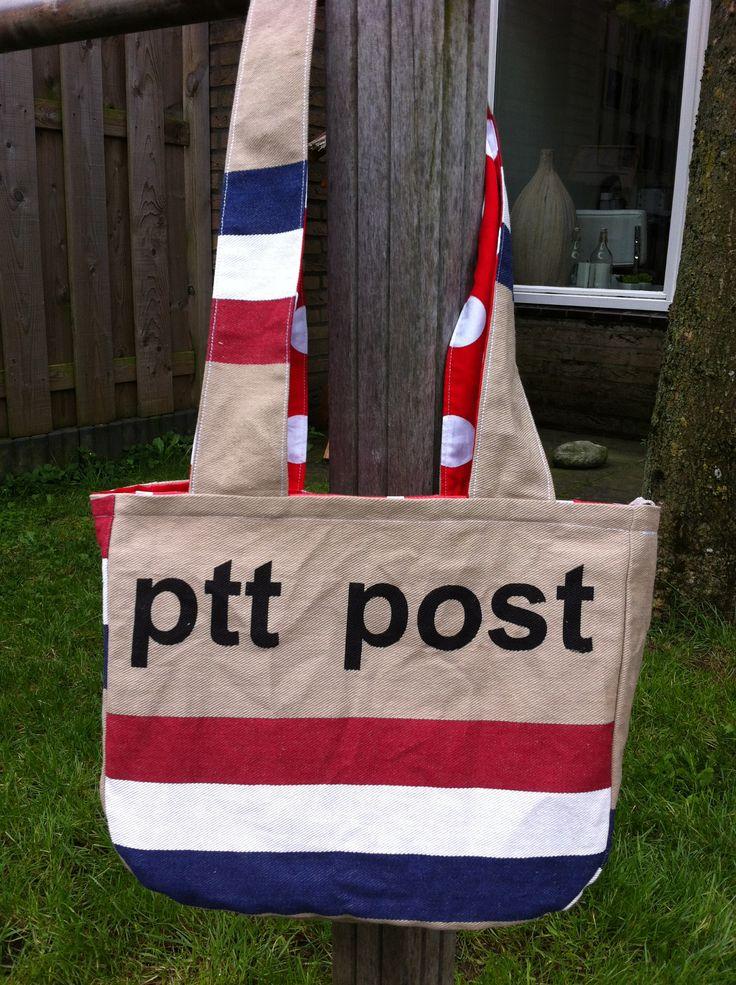 Postzakken handtas !!