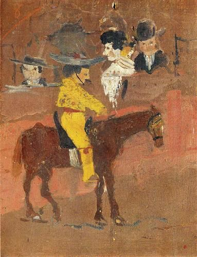 The picador - Pablo Picasso 8 years old.
