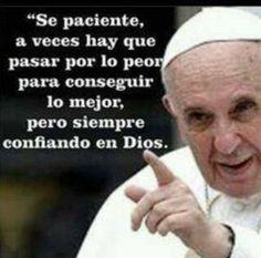 imagenes del papa francisco con frases - Buscar con Google