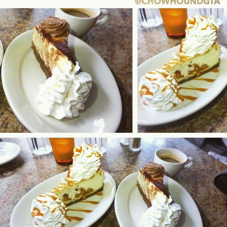 Tiramisu #cheesecake and macadamian caramel cheescake at the Cheesecake Factory in Aventura Mall Miami. #food #dessert #cheesecakefactory #aventuramall #spoonfeed #foodpornshare #feedmyphone #miamifood